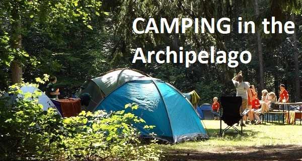 Camping in Turku archipelago