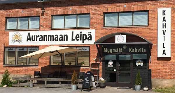 Auranmaan Leipä Oy, Myymäläkahvila