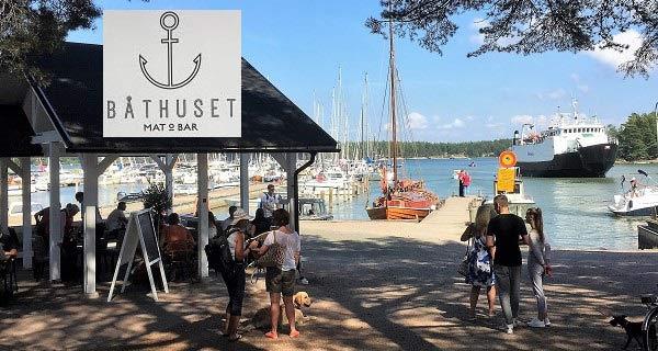 BÅTHUSET - Mat & Bar - Nauvo harbour