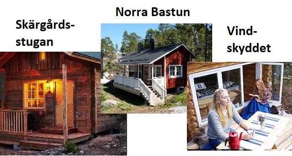Brännskär - Stugor