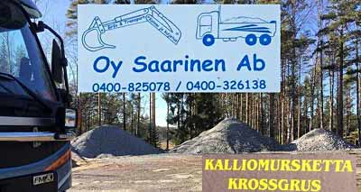 Kaivuu & Kuljetus Saarinen Oy Ab