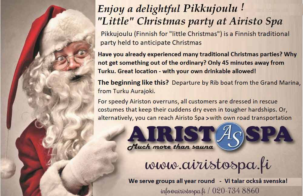 Pikkujoulut - Little Christmas - Click to Zoom!