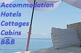 Accommodation, Hotels, cottages