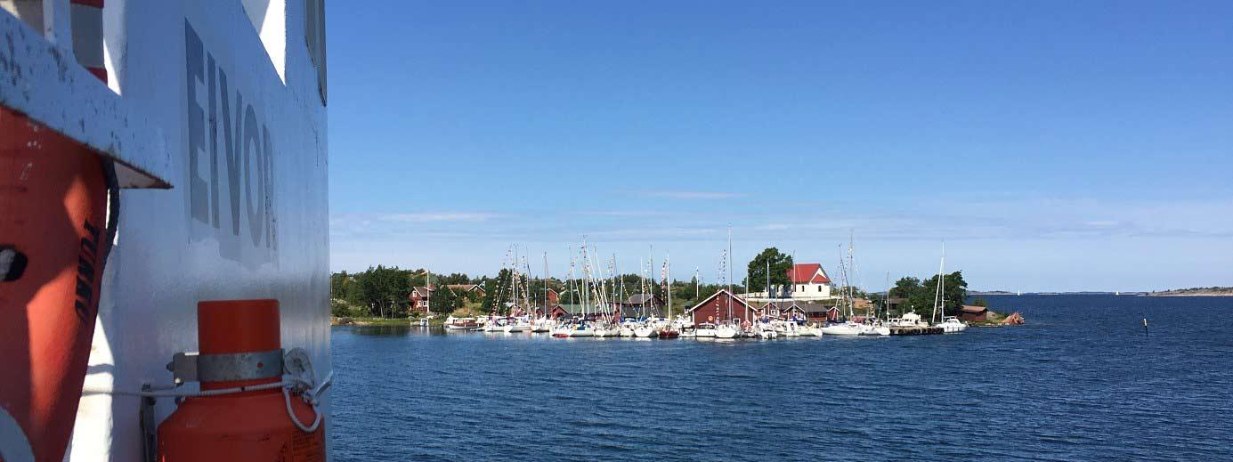 Aspö island in the Archipelago National Park