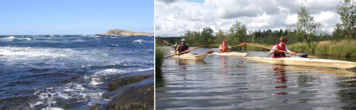 Kayaking Turku archipelago