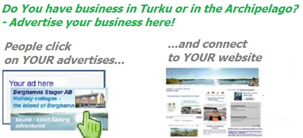 Advertise your business and services in Turku and Turku Archipelago