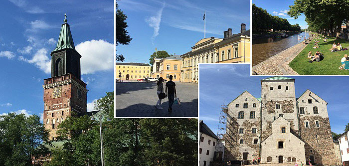 Turku - the historical centre of Finland